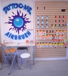 Tattoo-Me AirBrush Station